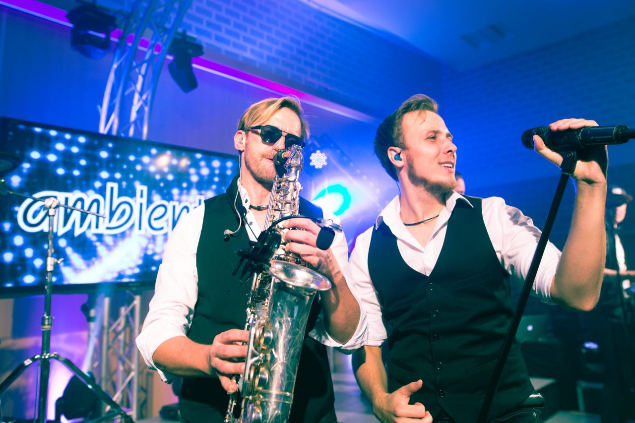 ambiente-partyband-coverband-bielefeld-saxophonist